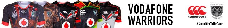 Vodafone Warriors 2015 Range