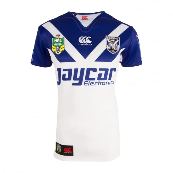 2016 BULLDOGS REPLICA HOME JERSEY WHITE