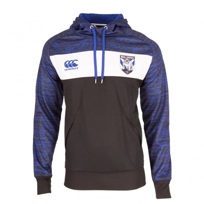 2016 BULLDOGS TRAINING HOODY BLACK