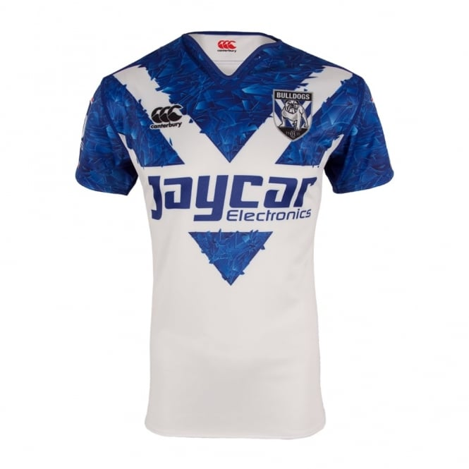 2016 BULLDOGS TRAINING JERSEY WHITE