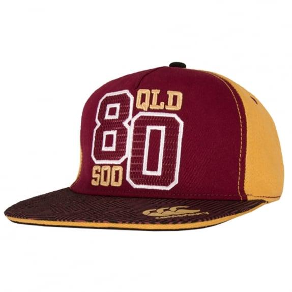 2016 QLD SOO FLAT CAP MAROON