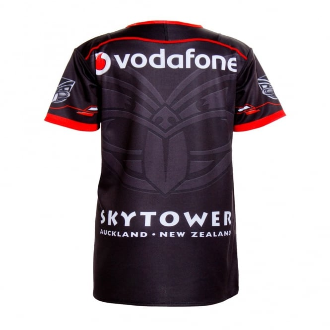 2016 VODAFONE WARRIORS KIDS HOME JERSEY BLACK