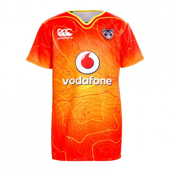 2016 VODAFONE WARRIORS KIDS TRAINING JERSEY VODAFONE RED
