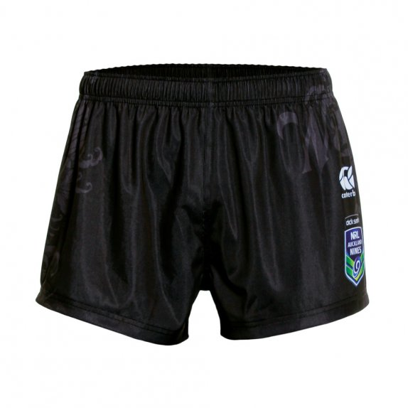 2016 VODAFONE WARRIORS REPLCA 9'S SHORT BLACK
