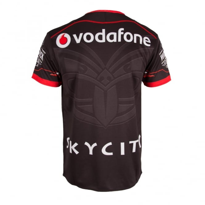 2016 VODAFONE WARRIORS REPLICA HOME JERSEY BLACK