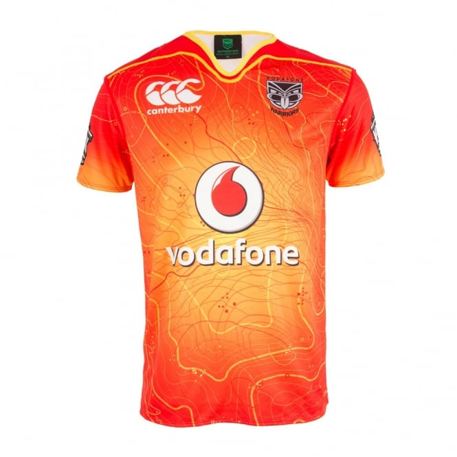 get cheap b7214 91406 2016 VODAFONE WARRIORS TRAINING JERSEY VODAFONE RED