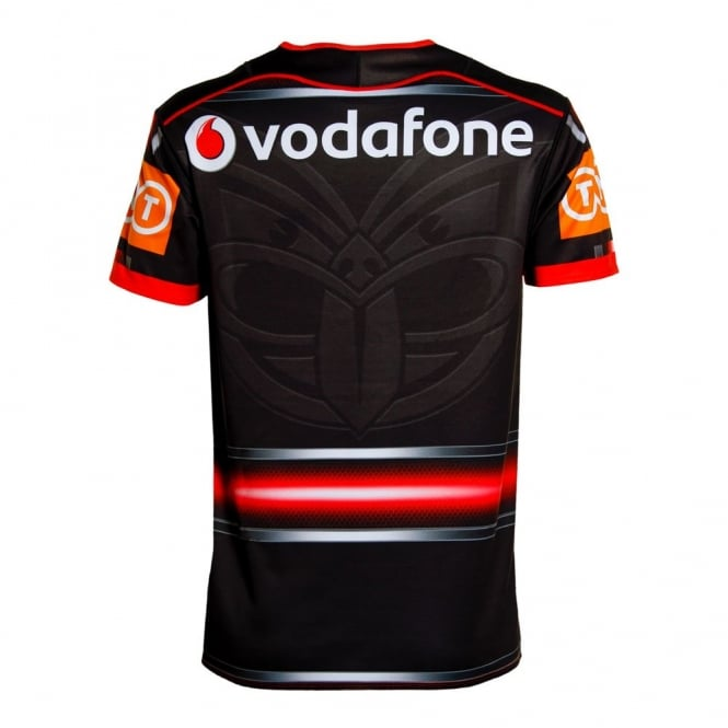 best sneakers 2a4e8 f57d1 2016 VODAFONE WARRIORS U20'S HOME JERSEY BLACK