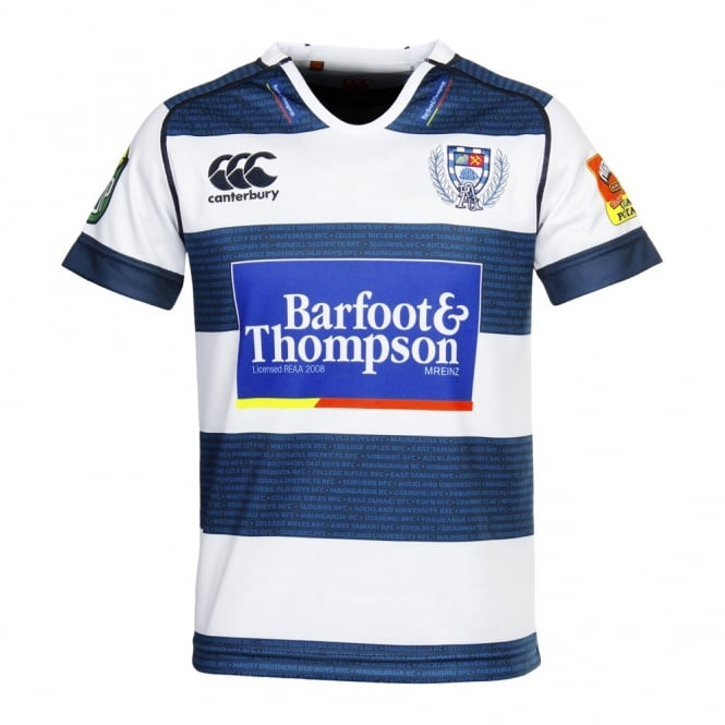AUCKLAND KIDS REPLICA JERSEY NAVY 2015