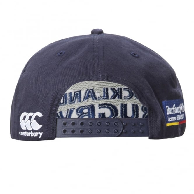 AUCKLAND TRAINING CAP NAVY 2016