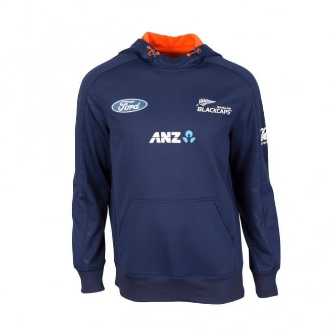 BLACK CAPS REPLICA TRAINING HOODIE 2017