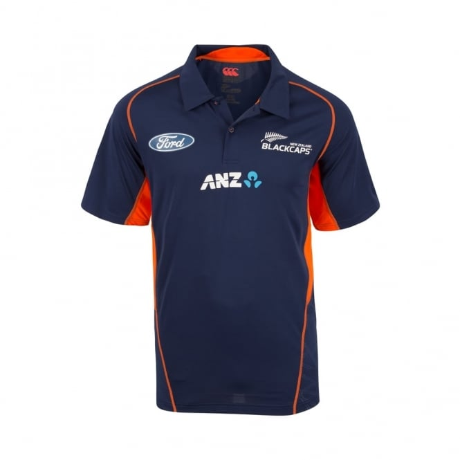 BLACK CAPS REPLICA TRAINING POLO 2017