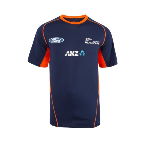 BLACK CAPS REPLICA TRAINING TEE 2017