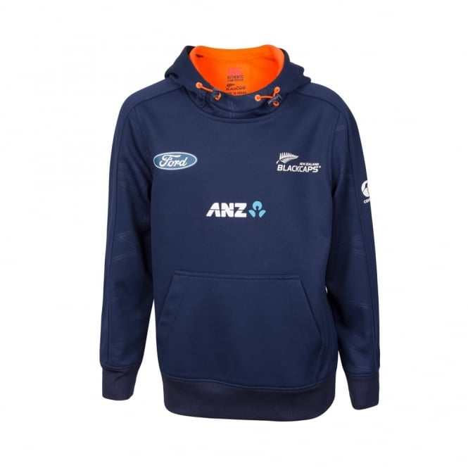 BLACK CAPS TRAINING HOODIE 2017 - JUNIORS