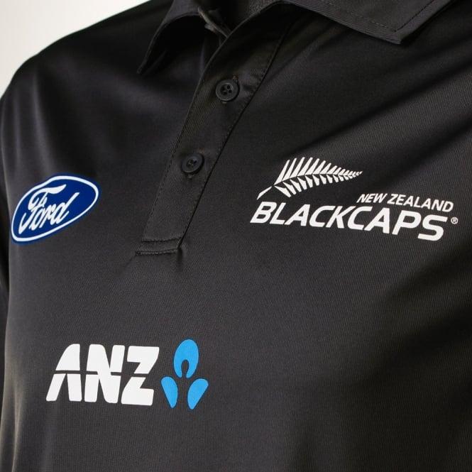 BLACK CAPS TRAINING POLO 2016