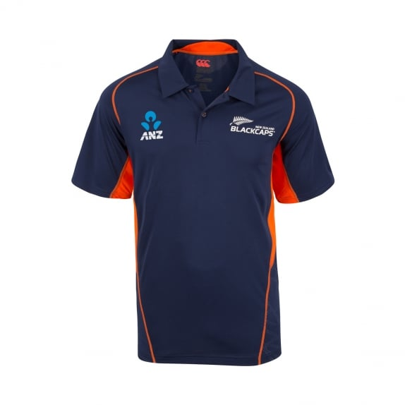 BLACKCAPS REPLICA TRAINING POLO 2018