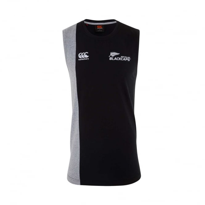 BLACKCAPS SUPPORTERS TWO TONE SINGLET 2018