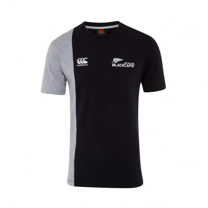 BLACKCAPS SUPPORTERS TWO TONE TEE 2018