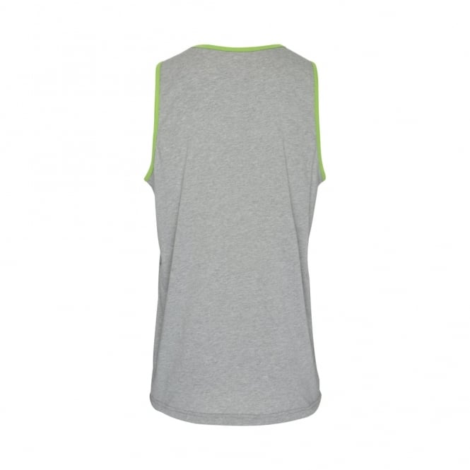 BOUNDRY SINGLET MID GREY MARLE