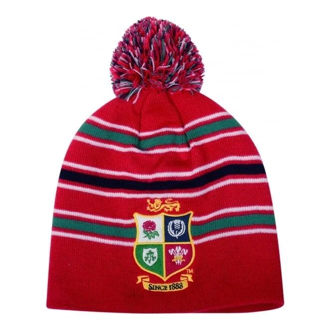BRITISH & IRISH LIONS ACRYLIC BOBBLE HAT
