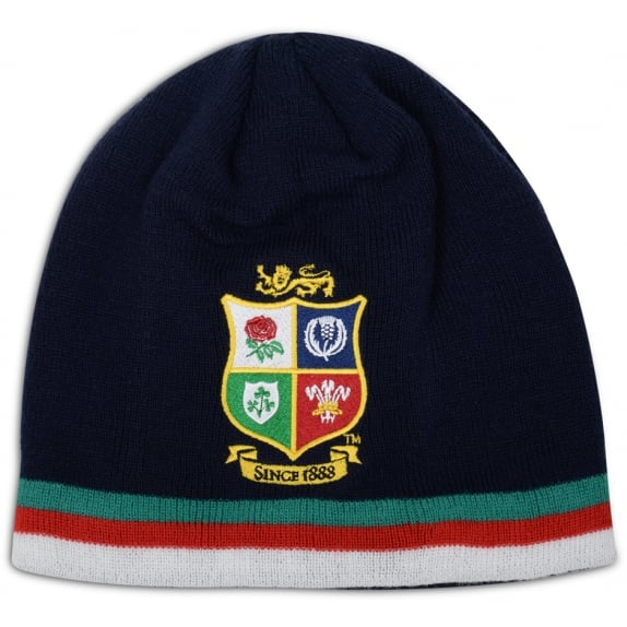 BRITISH & IRISH LIONS FLEECE LINED BEANIE