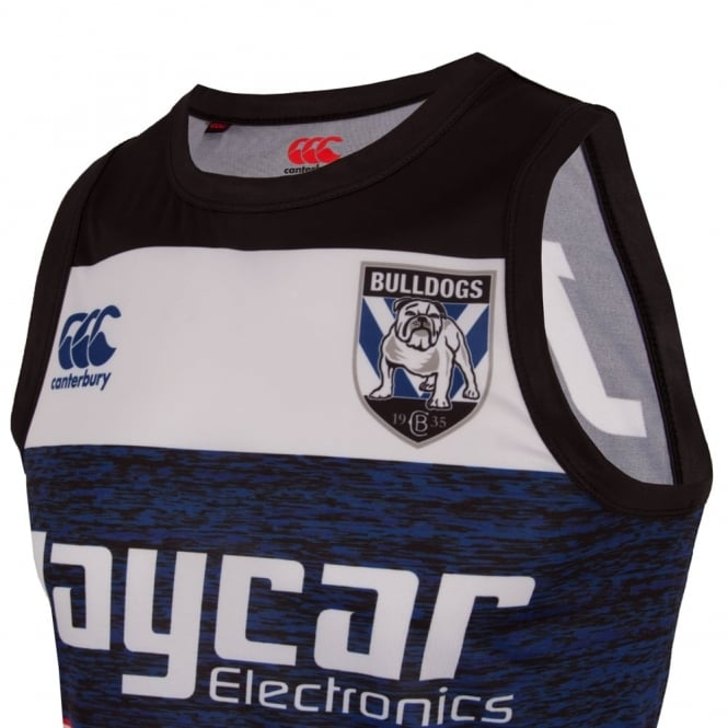 SUPPORTERS - LIC BULLDOGS TRAINING SINGLET BULLDOGS BLUE2011
