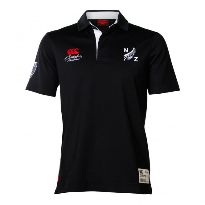 CCC FERN S/S RUGBY BLACK