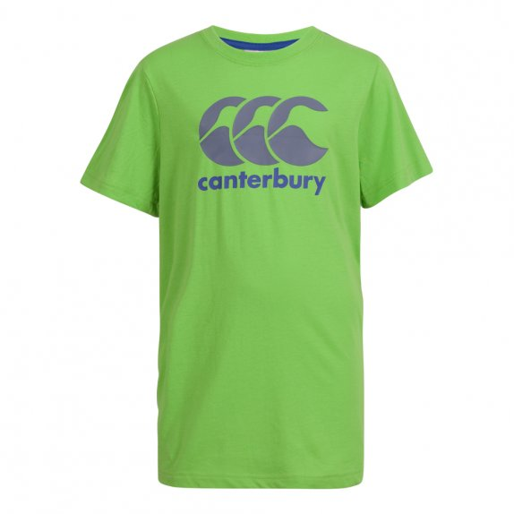 CCC LOGO TEE FLASH GREEN/WHITE