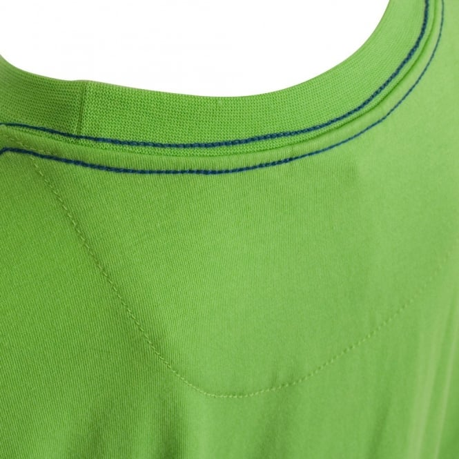 CCC LOGO TEE FLASH GREEN/WHITE