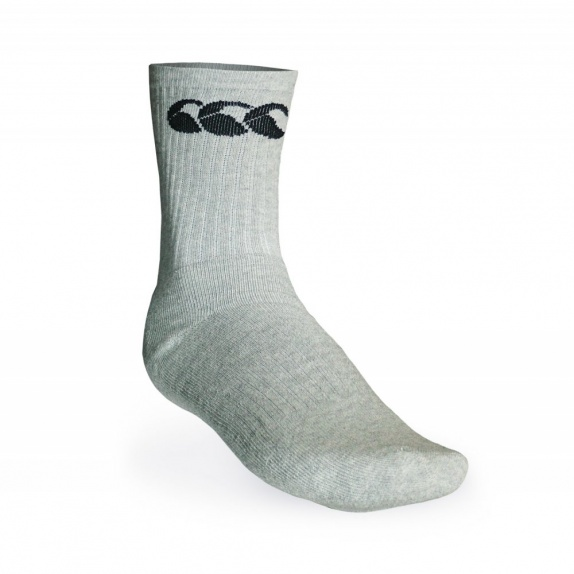 COTTON SPORT CALF GREY/BLACK