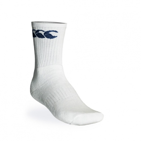 COTTON SPORT CALF WHITE/NAVY