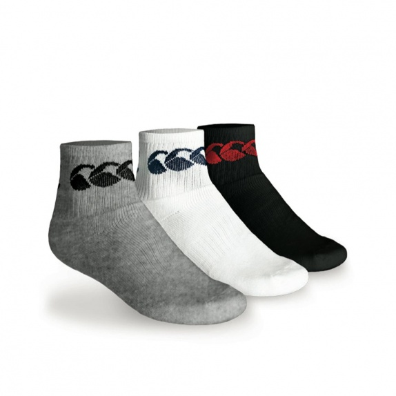 COTTON SPORT CREW SOCK 3PACK ASSORTED
