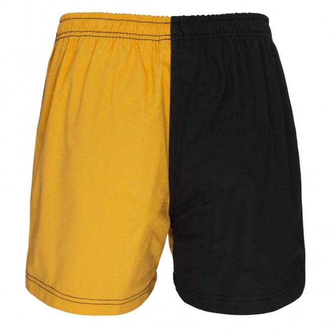 COTTON TWILL HARLEQUIN SHORT
