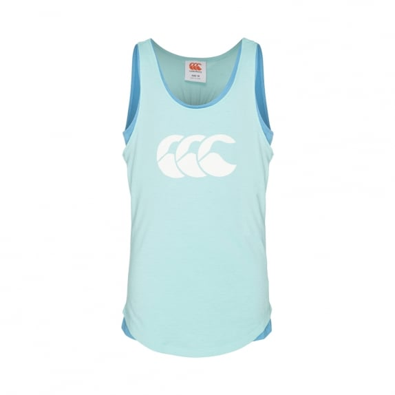 DUO SINGLET BLUE RADIANCE - GIRLS