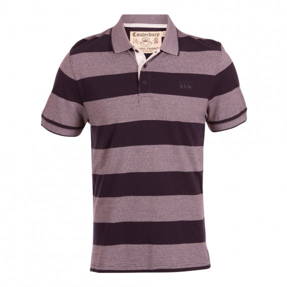 FLECK YARN DYE POLO ECLIPSE