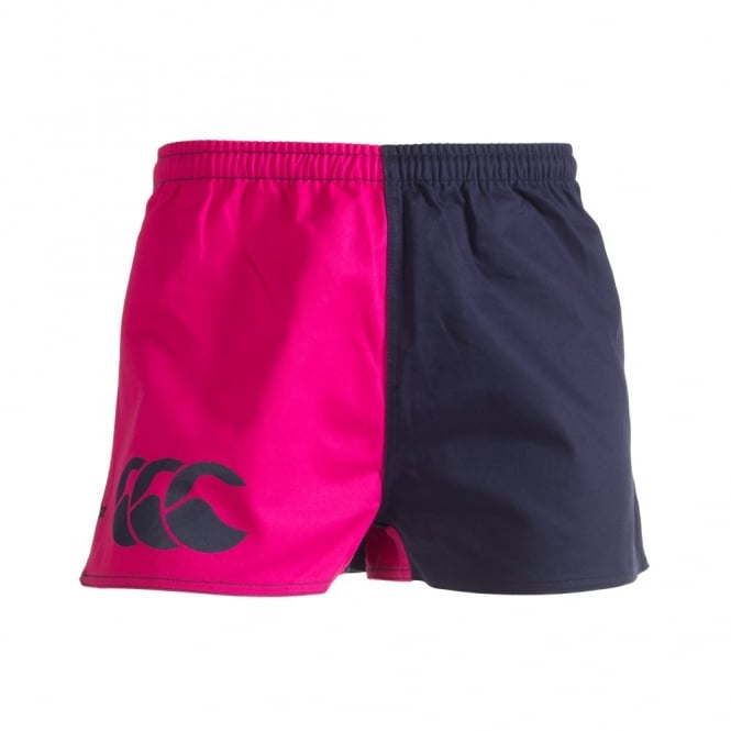 Harlequin Short Fushia Navy Women From Canterbury Nz