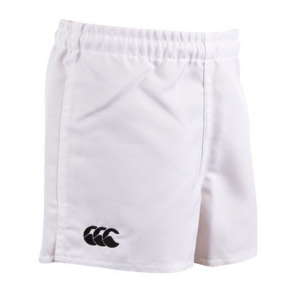 KIDS POLY ACTION SHORT WHITE