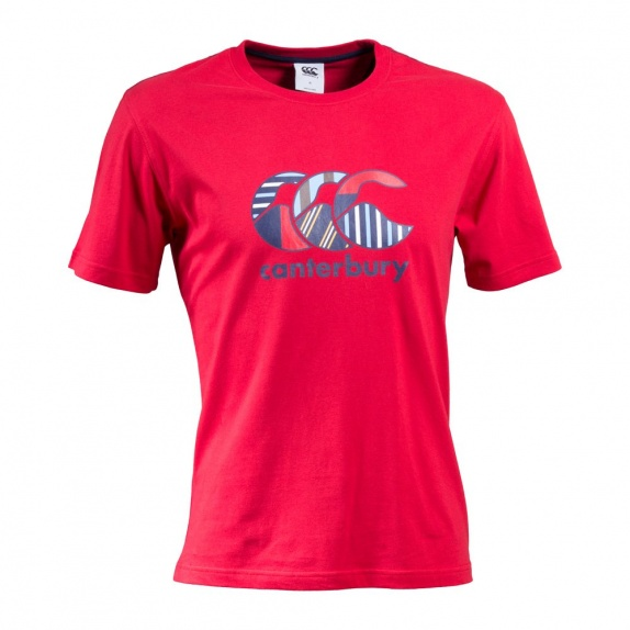 KIDS UGLY TEE FLAG RED