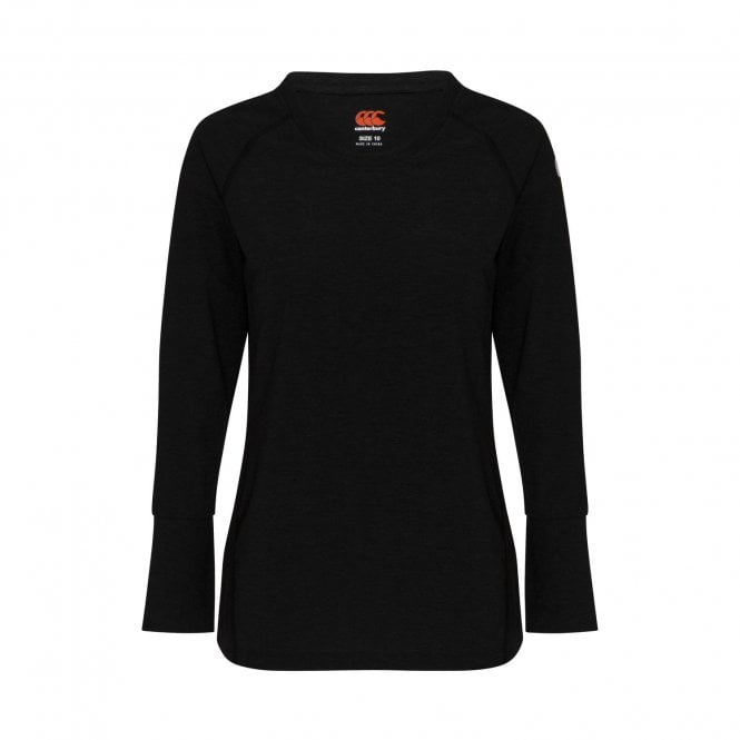 Canterbury Baselayer Womens T-Shirt Ladies Tee CCC New