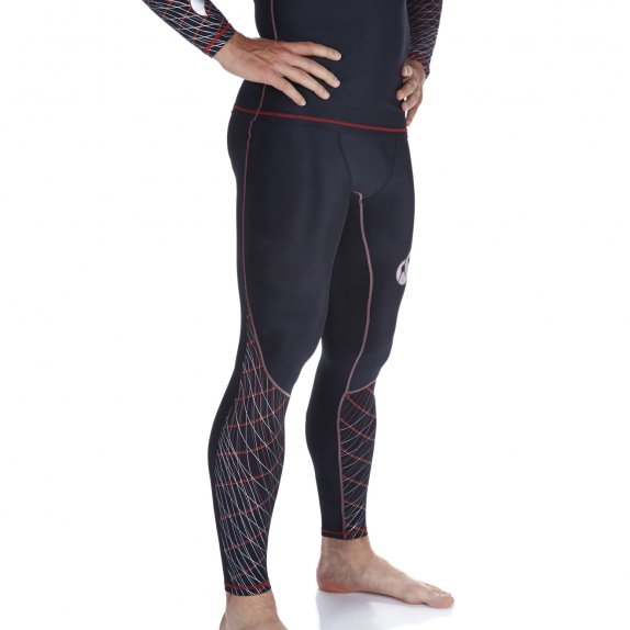 MERCURY COMPRESSION LEGGINGS BLACK 2016