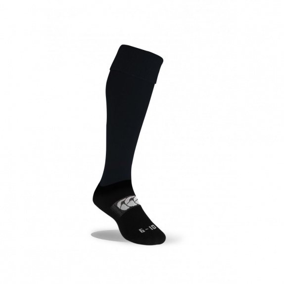 NEW CLUB TEAM SOCK PLAIN BLACK