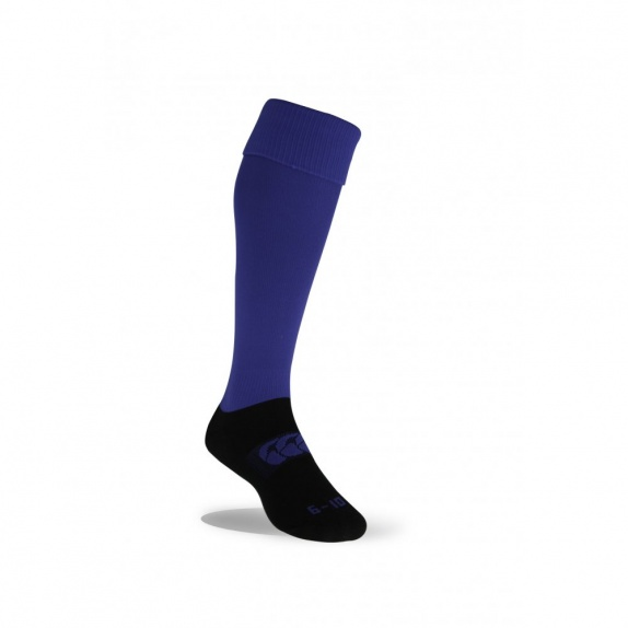 NEW CLUB TEAM SOCK PLAIN ROYAL