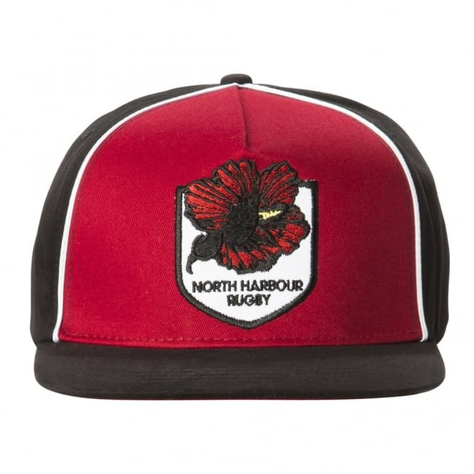 NORTH HARBOUR TRAINING CAP BLACK 2016