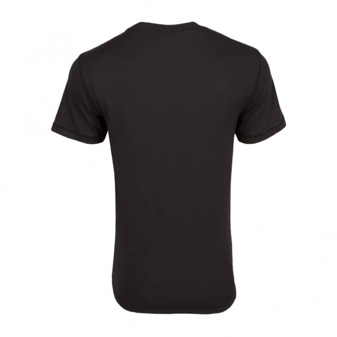 NORTH HARBOUR TRAINING TEE BLACK 2016