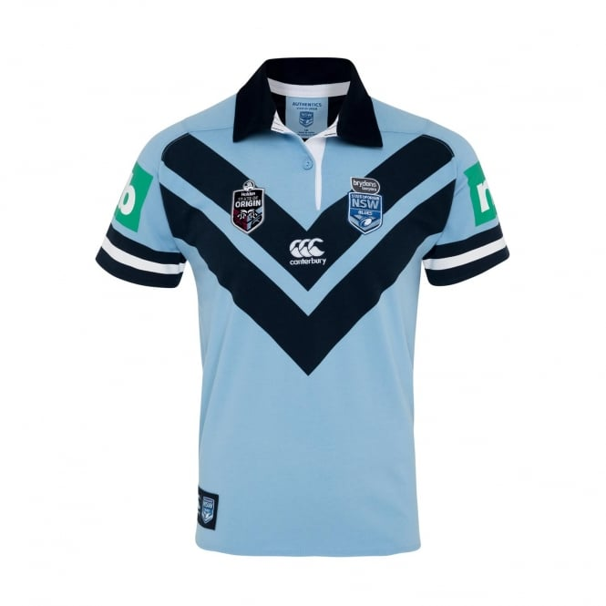 a880c215dc4 NSW BLUES NSW SOO CLASSIC S/S JERSEY 2018 - Mens from Canterbury NZ