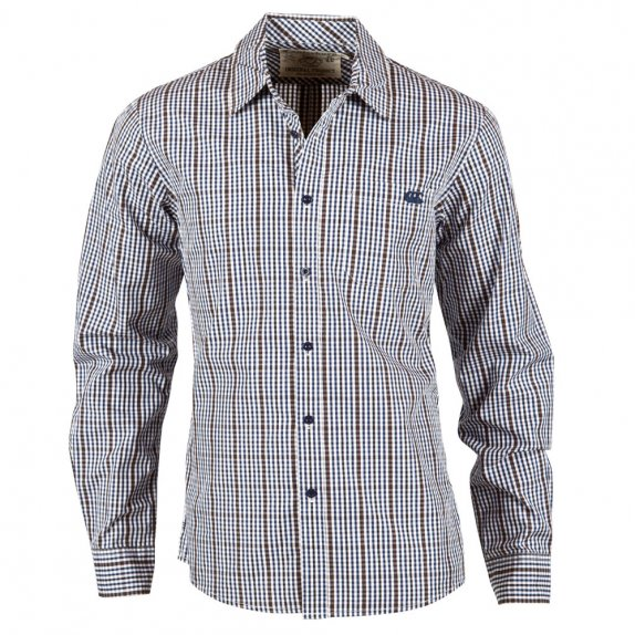 ON THE GRID SHIRT SODALITE BLUE