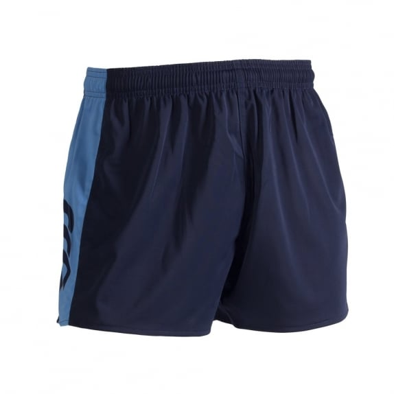 PANELLED POLYESTER SHORT NAVY 2016