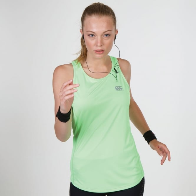 PERFORMANCE CODE SINGLET GREEN GLOW