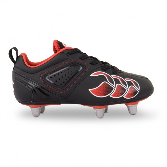 PHOENIX CLUB JUNIOR 6 STUD BLACK