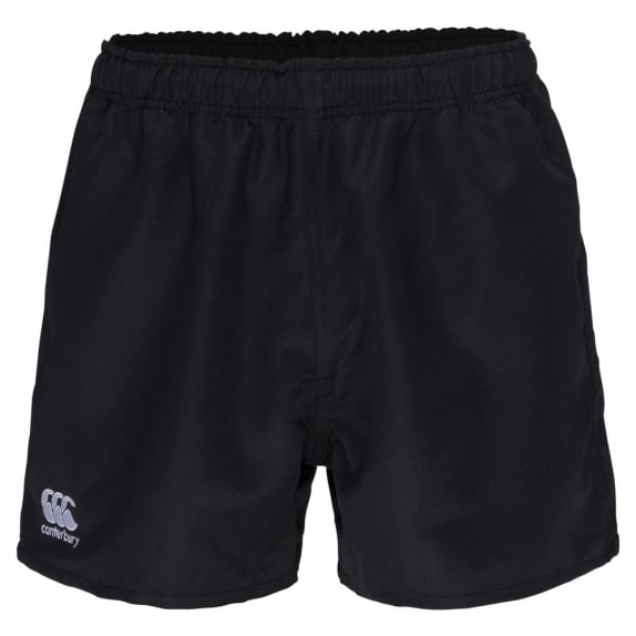 POLYESTER PROFESSIONAL SHORT BLACK - JUNIOR