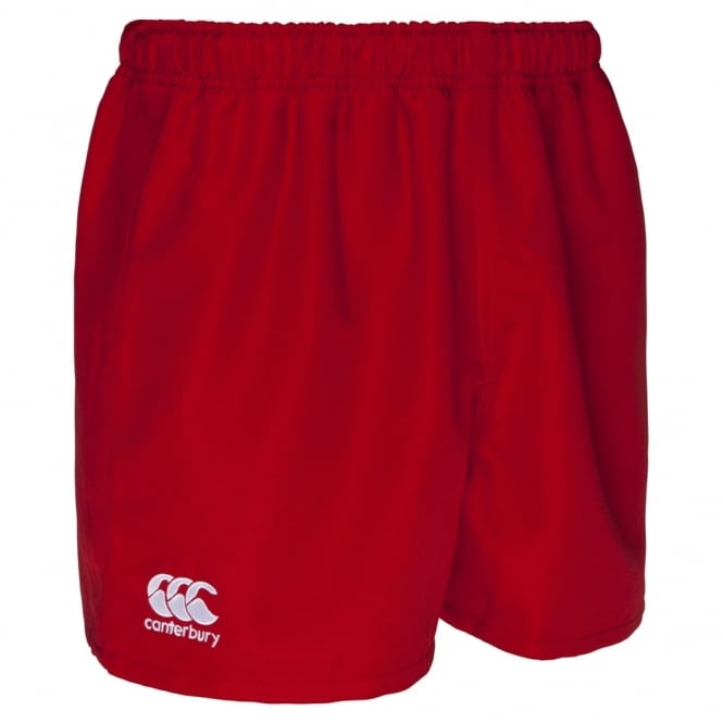 POLYESTER PROFESSIONAL SHORT FLAG RED - JUNIOR